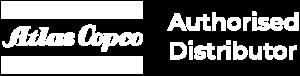 Atlas Copco Logo White